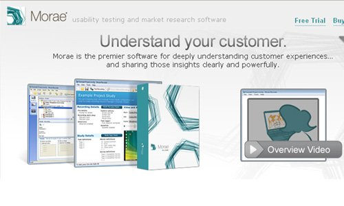 morae 20 Tools to Improve Your Websites Usability