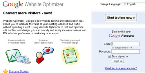 websiteoptimize 20 Tools to Improve Your Websites Usability